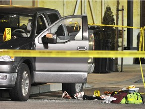 Kevin LeClair was shot  outside the IGA in Langley's Thunderbird Village Mall on Feb. 6, 2009.