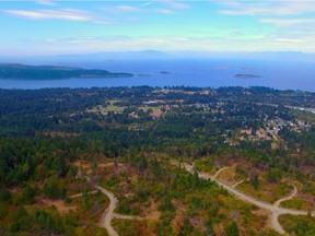 The Vancouver Island site of The Foothills, a new project near Lantzville. Supplied. [PNG Merlin Archive]