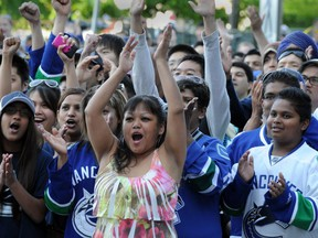 In an increasingly multi-ethnic city, the ethnic makeup of the Vancouver Canucks fn base is equally diverse.