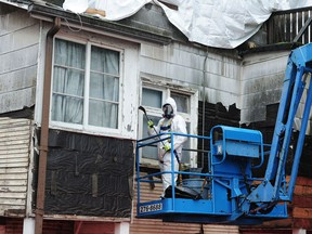 Now known to be a carcinogen, working with asbestos found in older buildings requires strict health and safety protocols.