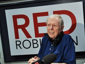 Rock and roll radio legend Red Robinson taped his last radio show last week. It aired Sunday on CISL.
