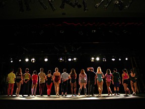 A Chorus Line plays at Waterfront Theatre.