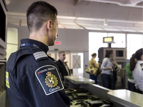 So far 89,000 parents and grandparents have come to Canada on the super-visa program, half of them from South Asia. (Photo: A Canadian Border Services agent at a Canadian airport).