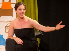 Keara Barnes stars in Almost a Stepmom at the Arts Umbrella as part of the 2017 Vancouver Fringe Festival, which runs until Sept. 17.