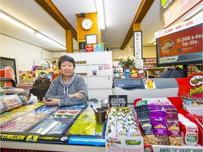 VANCOUVER, B.C.: Oct. 19, 2017 — Emma Ng, owner of Cardero Grocery store at 1078 Cardero St., is moving on and closing her shop at month's end after the building was recently sold.
