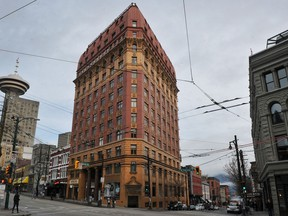 The Dominion Building on West Hastings in Vancouver on March 9, 2014.
