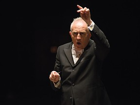 Bramwell Tovey is in his last season as musical director of the Vancouver Symphony Orchestra.