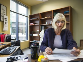 Irene Lanzinger is president of the B.C. Federation of Labour.