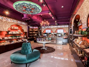 A look inside the new boutique Saffron Palace in West Vancouver.