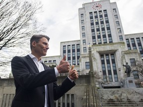 Vancouver Mayor Gregor Robertson will not seek re-election.
