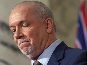 B.C. Premier John Horgan says the decision to proceed with Site C has been his toughest decision. The protests about that call haven't stopped.