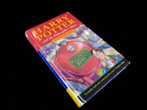 The UBC Library has acquired a rare copy of the U.K. first edition of Harry Potter and the Philosopher's Stone for US$36,500.