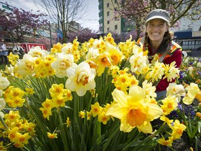 Laura Principe has been the gardener responsible for some of the highest profile and most visited flower beds in Vancouver along English Bay from the Park Board office near Stanley Park to the aquatic centre for the past four years.
