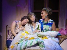 Cathy Wilmot, Stephanie Roth and Irene Karas Loeper, as Rosie, Donna and Tanya.