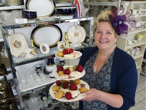 Kristen Oostindie of Echo's China and Silver will be rolling out afternoon tea on Saturday, from 2 p.m. to 4 p.m., to celebrate that morning's royal wedding of Prince Harry and Meghan Markle.