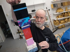 An new art installation called Vortex by acclaimed artist and writer Douglas Coupland will be unveiled May 18 at the Vancouver Aquarium. The artwork looks at our complicated relationship with plastic. Photo: Ocean Wise. [PNG Merlin Archive]