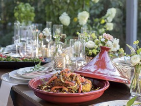 'My top tip for outdoor entertaining is to make it beautiful,' Ami McKay of Pure Design says.