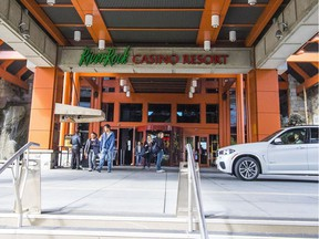 """A cheque by cheque analysis of three years of payouts over $10,000 at the River Rock Casino Resort has revealed """"no systemic pattern of money-laundering activity,"""" according to the B.C. Lottery Corporation."""
