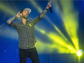 Dallas Smith performs at both the Rockin' River and Sunfest Country Music Festivals this summer.