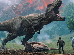 Jurassic World: Fallen Kingdom is the subject of this week's Movie Minute video film review.
