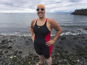 Open-water ultra-marathon swimmer Susan Simmons, who will attempt two massive swims this summer.