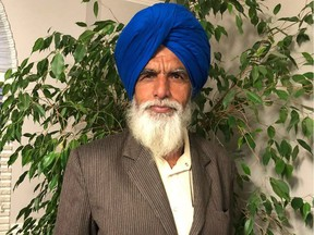 SohanSinghSidhu, 65, died in Abbotsford, B.C. after being run over by a Canada Day float on Sunday.