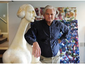 John Dann, the artist who did the statue of Sir John A. Macdonald that was just taken down in Victoria.