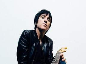 Johnny Marr. UK guitar hero has released his second solo album Call The Comet. 2018 [PNG Merlin Archive]