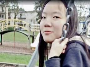 Undated image of Marrisa Shen taken from a Facebook tribute video posted after the teen's death.