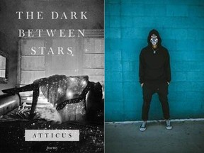 The Dark Between Stars is the latest book of poetry from anonymous author Atticus.