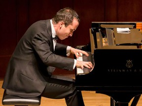 Igor Levit plays at Chan Centre for the Performing Arts at UBC on November 4.