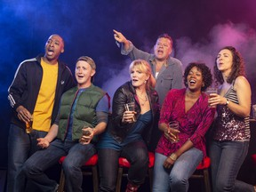 The cast of Sweat, playing at the Stanley Industrial Alliance Stage until Nov. 19.