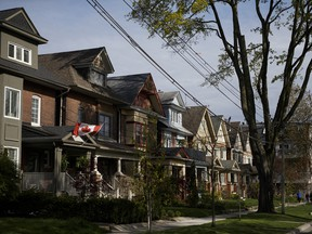 The increase in Canadian housing prices was largely driven by the increase in prices in Toronto and Vancouver.