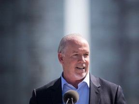 B.C. Premier John Horgan has not kept his pre-election promises on electoral reform, but insists voters should take a leap of faith with him as he promotes the advantages of proportional representation.