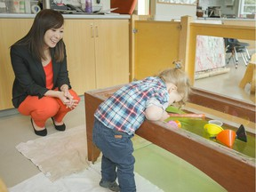 Minister of State for Child Care Katrina Chen  visited Kiwassa Neighbourhood House in East Vancouver to celebrate the start of childcare month in B.C.