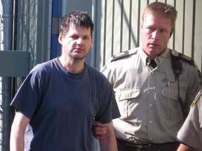 Child abductor Randall Hopley pictured in 2011.