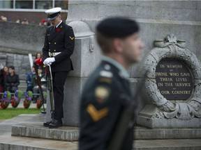 This year's Vancouver Remembrance Day ceremony will take place at Victory Square.