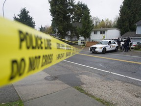 A person has died after being shot in the Newton neighbourhood of Surrey.