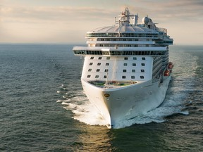 In this handout photo provided by Royal Princess and Princess Cruises, The Royal Princess leaves port on June 9, 2013 in Southampton, England. (Phill Jackson/Royal Princess & Princess Cruises via Getty Images)