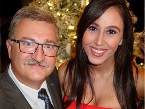 SOS Children's Village B.C. executive director Douglas Dunn and gala chair Nesrine Jabbour looked forward to a 4.9-hectare Mission site providing up to 30 new houses for foster children and youths to occupy.