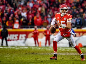 The exciting play of Kansas City Chiefs' quarterback Patrick Mahomes has helped boost TV numbers in the NFL playoffs this year. Expect more of the same this Sunday when he squares off against Tom Brady and the New England Patriots.