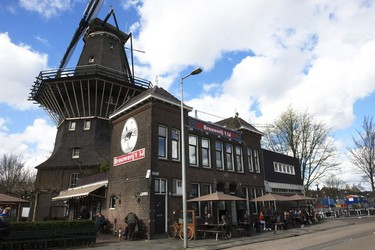 Adjacent to a landmark 1814 windmill and within a former bathhouse is the excellent micro-brewery - Brouwerij 't IJ.