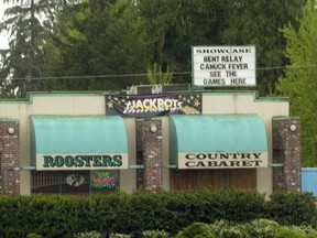 Roosters Country Cabaret on the Lougheed Highway.