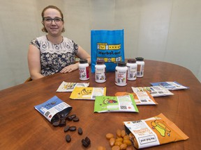 Heidi Volpov is a marketing manager at Herbaland, showing what to eat before, after and during 10k run. The company sells protein gummies, caffeine gummies, and branch chain amino acid gummies for athletes.