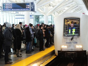 A track issue near the Stadium-Chinatown SkyTrain station is causing delays on the Expo Line, and just in time for the end-of-day commuter rush.