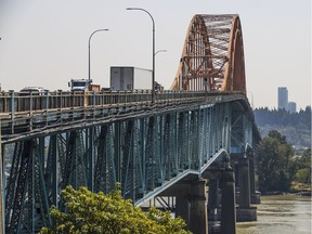 The budget to replace the aging Pattullo Bridge is currently $1.377 billion.