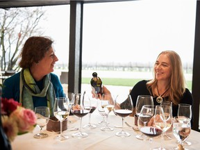 Left, Geneviève Janssens, director of winemaking at Robert Mondavi Winery, and Melissa Stackhouse, director of winemaking at Meiomi. Both will be attending the Vancouver International Wine Festival, Feb. 23 to March 3, for the first time.