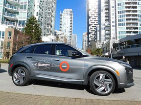 In the coming weeks two 2019 Hyundai Nexo FCEVs will be added to the Modo fleet in Vancouver.