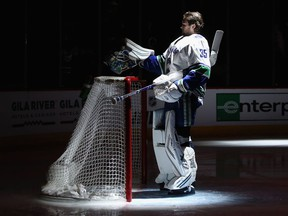 Thatcher Demko: Will he be the goalie of the future for the Vancouver Canucks, or will he be dealt to acquire a top NHL positional player?