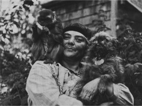 Woo the Monkey Who Inspired Emily Carr by Grant Hayter-Menzies.